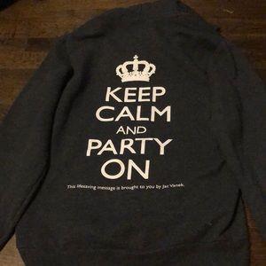 Jac Vanek hoodie size medium